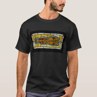 dulcimer-stained glass T-Shirt
