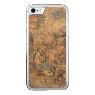 Dulle Griet (Mad Meg) by Pieter Bruegel Carved iPhone 8/7 Case