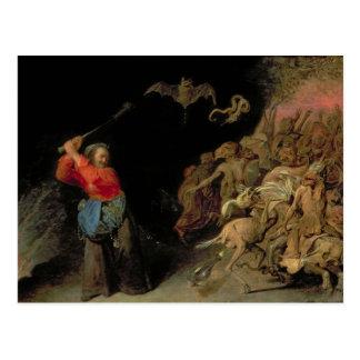 Dulle Griet  raiding Hell Postcard