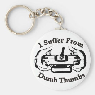 Dumb Thumbs Keychain