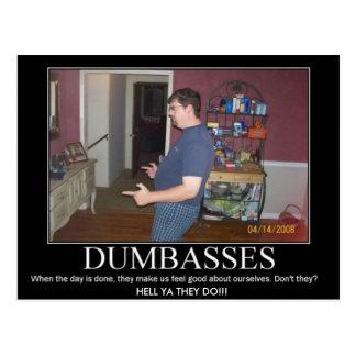 dumbasses postcard