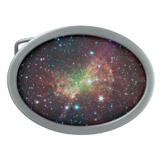 Dumbbell Nebula Belt Buckle