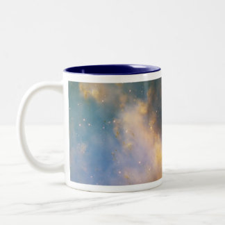 Dumbbell Nebula, The Dumbbell Nebula Two-Tone Coffee Mug