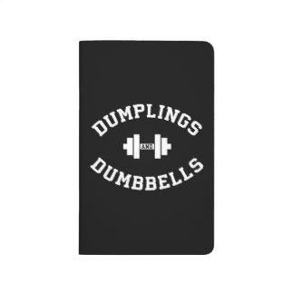 Dumbbells and Dumplings - Funny Bulking Novelty Journal