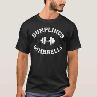 Dumbbells and Dumplings - Funny Bulking Novelty T-Shirt