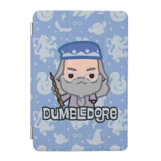 Dumbledore Cartoon Character Art iPad Mini Cover