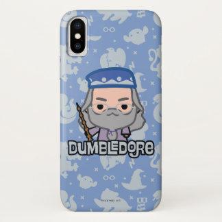 Dumbledore Cartoon Character Art iPhone X Case