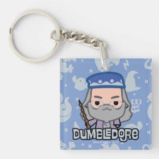 Dumbledore Cartoon Character Art Keychain