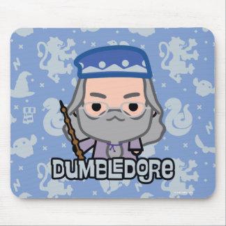 Dumbledore Cartoon Character Art Mouse Pad