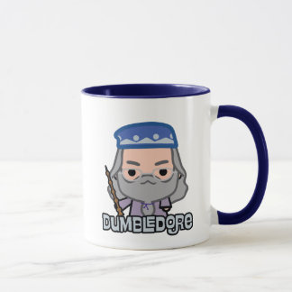 Dumbledore Cartoon Character Art Mug