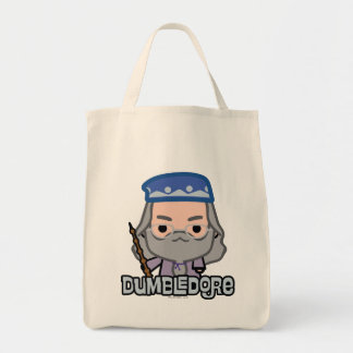 Dumbledore Cartoon Character Art Tote Bag