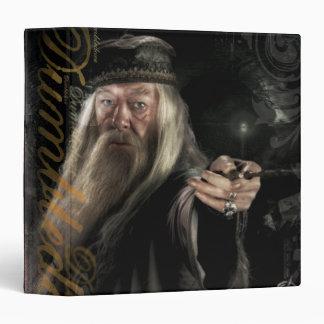 Dumbledore Script Logo Vinyl Binders