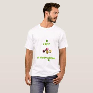 Dumbles in breakfast t-shirt