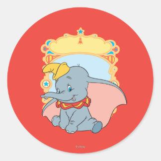 Dumbo Classic Round Sticker
