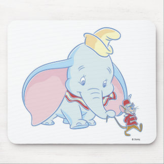 Dumbo Dumbo and Timothy Q. Mouse talking Mouse Pad