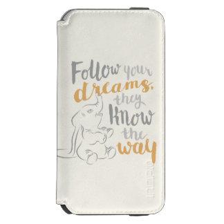 Dumbo | Follow Your Dreams Incipio Watson™ iPhone 6 Wallet Case