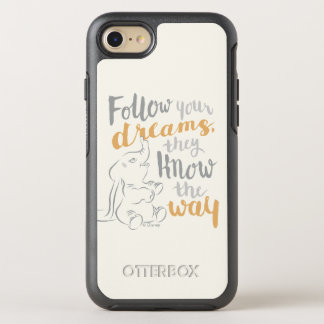 Dumbo   Follow Your Dreams OtterBox Symmetry iPhone 8/7 Case