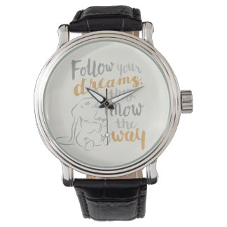 Dumbo | Follow Your Dreams Wrist Watches