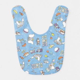 Dumbo | Fun Little Blue Pattern Bib