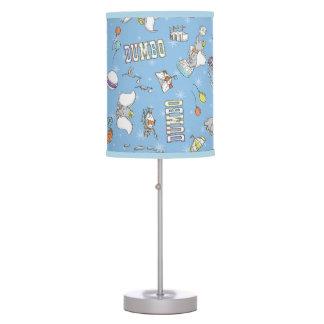 Dumbo | Fun Little Blue Pattern Table Lamps