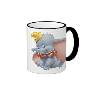 Dumbo Sitting Coffee Mugs