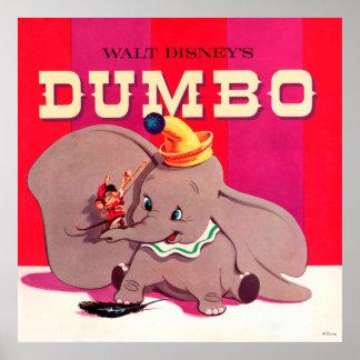 Dumbo Stripes Poster