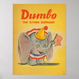Dumbo Yellow Poster