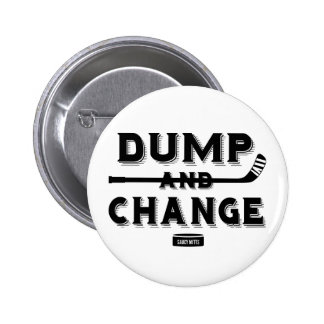 Dump and Change Hockey Infant 2 Inch Round Button