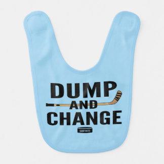 Dump and Change Hockey Light Blue Bibs