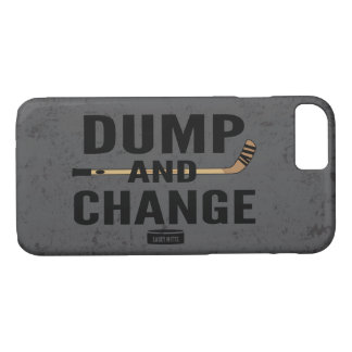 Dump and Change Hockey stick color iPhone 7 Case