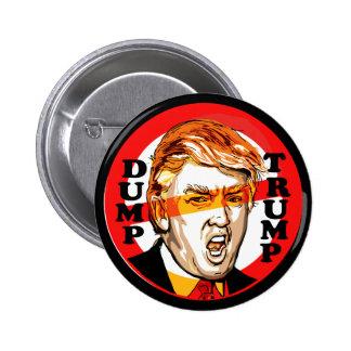 Dump Donald Trump 2016 2 Inch Round Button