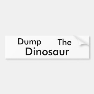 Dump Him Bumper Sticker