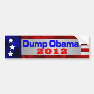 Dump Obama Bumper Sticker