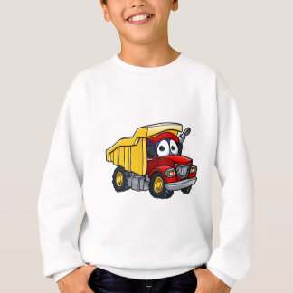 Dump Truck Cartoon Character Sweatshirt