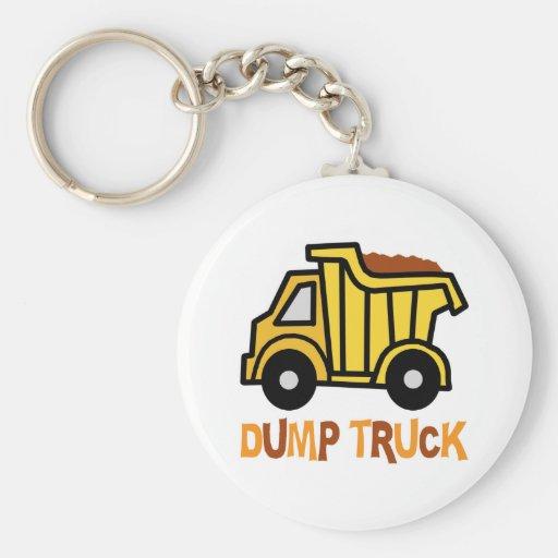 Dump Truck Key Chain
