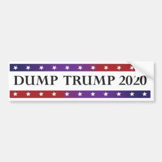 Dump Trump 2020 Bumper Sticker