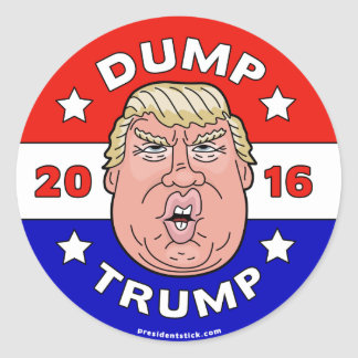 Dump Trump, Anti-Donald Trump 2016 Sticker