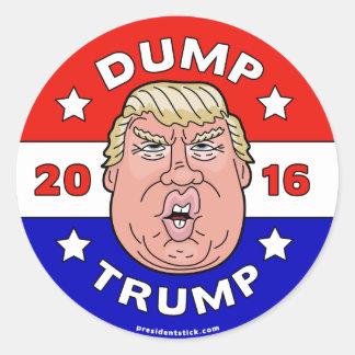 Dump Trump, Anti-Donald Trump 2016 Sticker