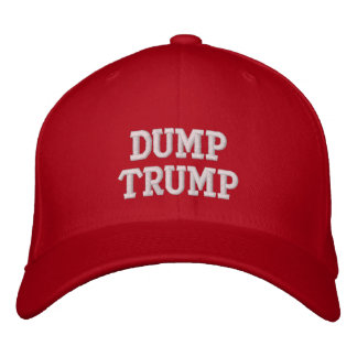 Dump Trump Custom Baseball Cap