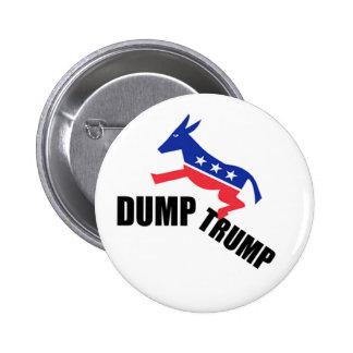 Dump Trump Dems 2 Inch Round Button