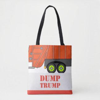 Dump Trump Dump Truck Tote