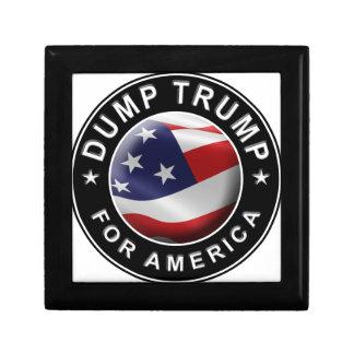 Dump Trump for America Official Logo Gift Box