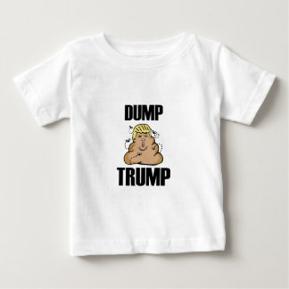 Dump Trump funny Baby T-Shirt