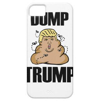 Dump Trump funny iPhone 5 Case