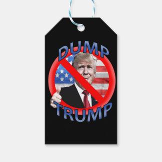 Dump Trump Gift Tags