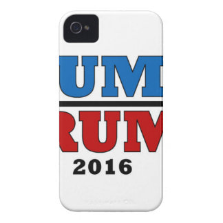 Dump Trump Hillary President 2016 Funny Case-Mate iPhone 4 Cases
