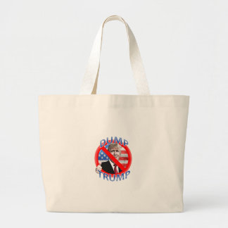 Dump Trump Large Tote Bag