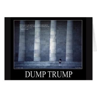 Dump Trump  Lincoln Quote Card