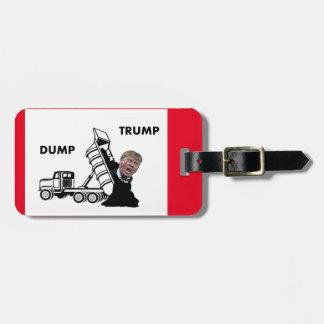 Dump Trump Luggage Tag