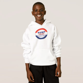 Dump Trump - Make America Safe Again Kids Hoodie